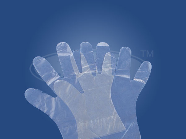 Disposable Examination Plastic Gloves